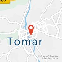 Mapa com localização da Loja CTT1º DE MARÇO