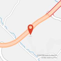 Mapa com localização da Loja CTTA. S. LAGOS (SAGRES/FARO)