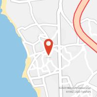 Mapa com localização da Loja CTTA VER O MAR