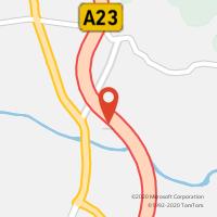 Mapa com localização da Loja CTTA23 FUNDÃO ( CBR / FND ) NASCENTE I