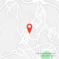 Mapa com localização da Loja CTTABRAVESES (VISEU)
