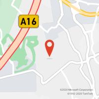 Mapa com localização da Loja CTTABRUNHEIRA (SINTRA)