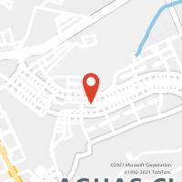 Mapa com localização da Agência AC AGUAS CLARAS SHOPPING