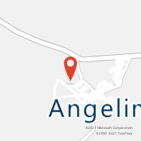 Mapa com localização da Agência AC ANGELIM