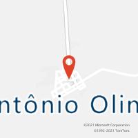 Mapa com localização da Agência AC ANTONIO OLINTO