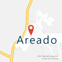 Mapa com localização da Agência AC AREADO