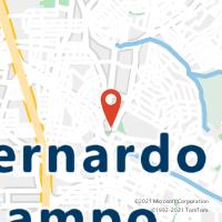 Mapa com localização da Agência AC ASSUNCAO