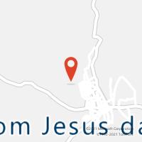Mapa com localização da Agência AC BOM JESUS DA SERRA