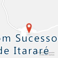 Mapa com localização da Agência AC BOM SUCESSO DE ITARARE