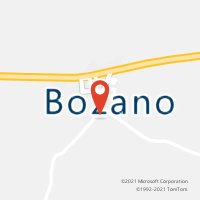 Mapa com localização da Agência AC BOZANO