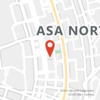 Mapa com localização da Agência AC BRASILIA SHOPPING