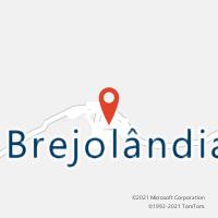 Mapa com localização da Agência AC BREJOLANDIA