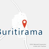Mapa com localização da Agência AC BURITIRAMA