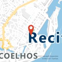 Mapa com localização da Agência AC CAMARA MUNICIPAL DE RECIFE