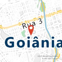 Mapa com localização da Agência AC CENTRAL DE GOIANIA