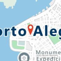 Mapa com localização da Agência AC CENTRAL DE PORTO ALEGRE