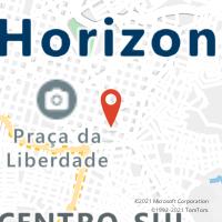 Mapa com localização da Agência AC CHAPADA GAUCHA