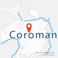 Mapa com localização da Agência AC COROMANDEL