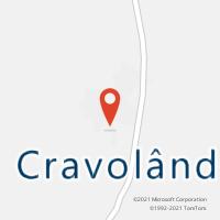 Mapa com localização da Agência AC CRAVOLANDIA