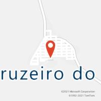 Mapa com localização da Agência AC CRUZEIRO DO IGUACU