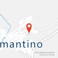 Mapa com localização da Agência AC DIAMANTINO