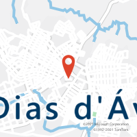 Mapa com localização da Agência AC DIAS D AVILA