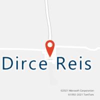 Mapa com localização da Agência AC DIRCE REIS