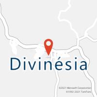 Mapa com localização da Agência AC DIVINESIA