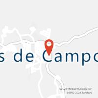Mapa com localização da Agência AC DORES DE CAMPOS