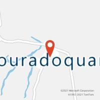 Mapa com localização da Agência AC DOURADOQUARA