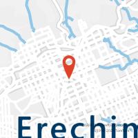 Mapa com localização da Agência AC ERECHIM