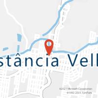Mapa com localização da Agência AC ESTANCIA VELHA