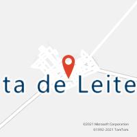 Mapa com localização da Agência AC FRUTA DE LEITE