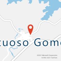 Mapa com localização da Agência AC FRUTUOSO GOMES