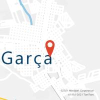 Mapa com localização da Agência AC GARCA