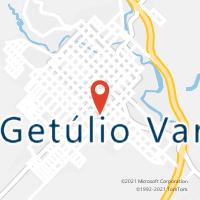 Mapa com localização da Agência AC GETULIO VARGAS