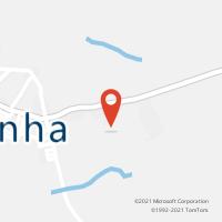 Mapa com localização da Agência AC GLORINHA