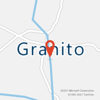 Mapa com localização da Agência AC GRANITO