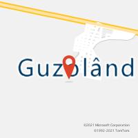 Mapa com localização da Agência AC GUZOLANDIA