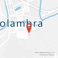Mapa com localização da Agência AC HOLAMBRA