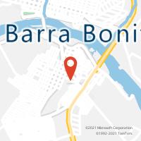 Mapa com localização da Agência AC IGARACU DO TIETE