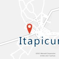 Mapa com localização da Agência AC ITAPICURU