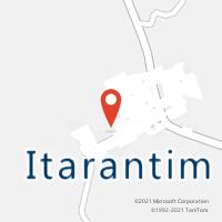 Mapa com localização da Agência AC ITARANTIM