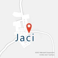 Mapa com localização da Agência AC JACI
