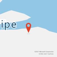 Mapa com localização da Agência AC JAGUARIPE