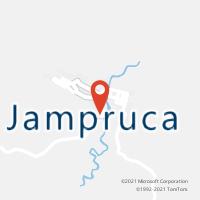 Mapa com localização da Agência AC JAMPRUCA
