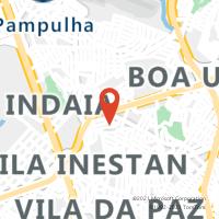 Mapa com localização da Agência AC JARAGUA