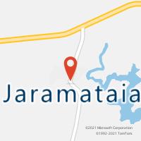 Mapa com localização da Agência AC JARAMATAIA