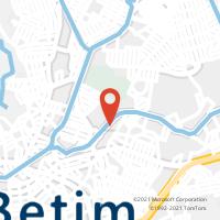 Mapa com localização da Agência AC JARDIM DAS ALTEROSAS