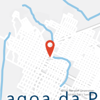 Mapa com localização da Agência AC LAGOA DA PRATA